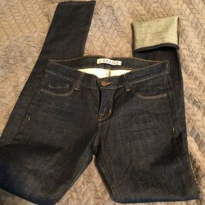 J brand dark wash 26